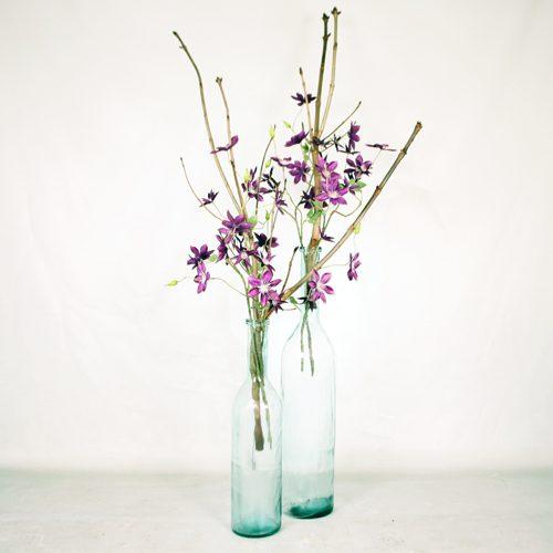 Silk ka flowers plants archieven beursdecoratie set van 2 vazen met takken en zijden bloemen mightylinksfo