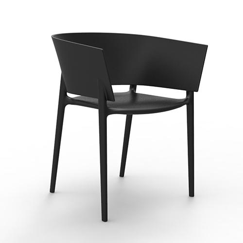 Africa chair zwart - Meubilair storage zwart ...